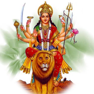 Hdpng - Goddess Durga Maa, Transparent background PNG HD thumbnail