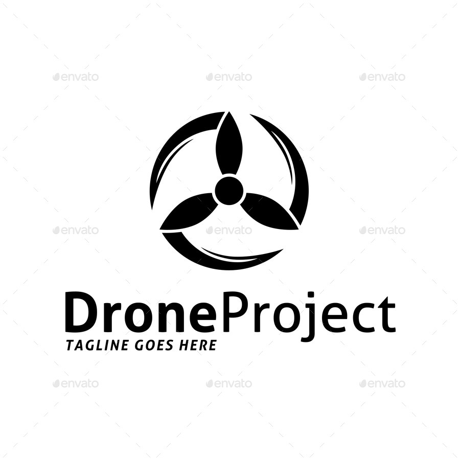 Drone Project Logo - A Project Vector, Transparent background PNG HD thumbnail