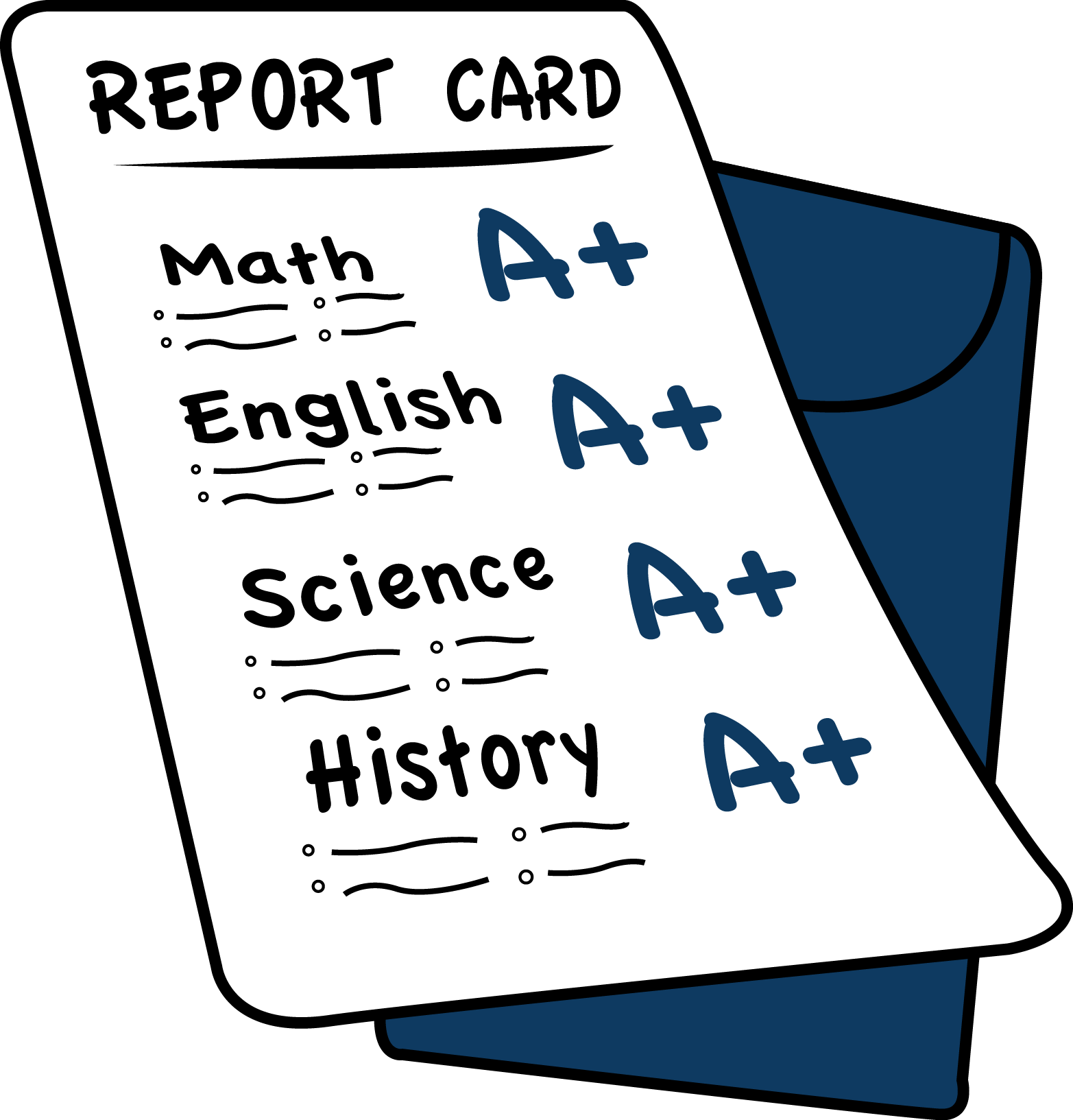 A Report Card PNG