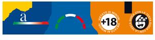 Vietato Ai Minori Di 18 Anni   Le Probabilità Di Vincita Di Ciascun Gioco Sono Presenti Nei Siti Ufficiali Operatori Aams. - Aams, Transparent background PNG HD thumbnail