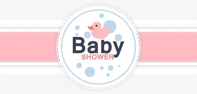 Vector Baby Shower Card, Baby Shower Card, Card, Vector Png And Vector - Abay Electric Network Vector, Transparent background PNG HD thumbnail