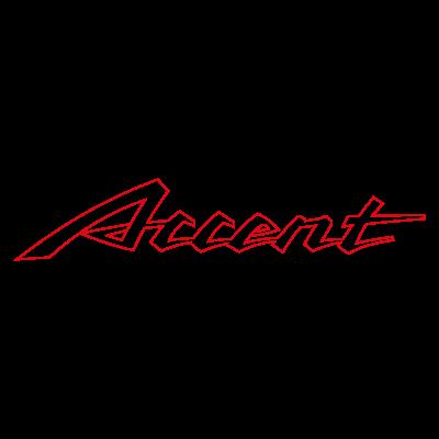 Accent Auto Vector Logo . - Accent Auto Vector, Transparent background PNG HD thumbnail