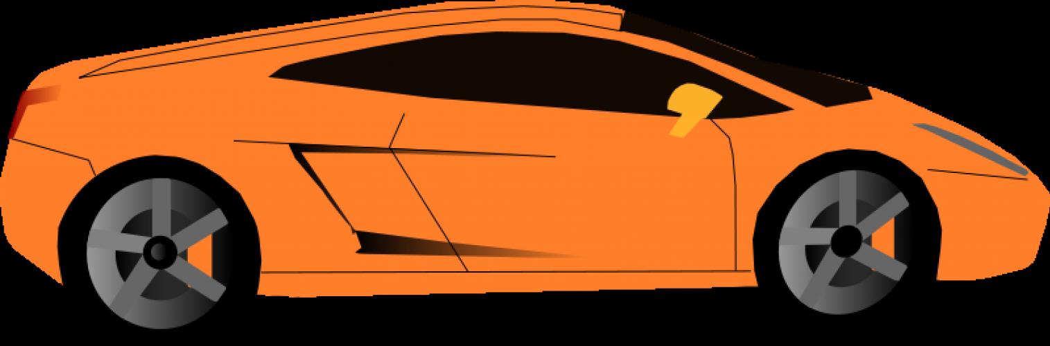 Luxury Sports Car Vector Graphics   Public Domain Vectors - Accent Auto Vector, Transparent background PNG HD thumbnail