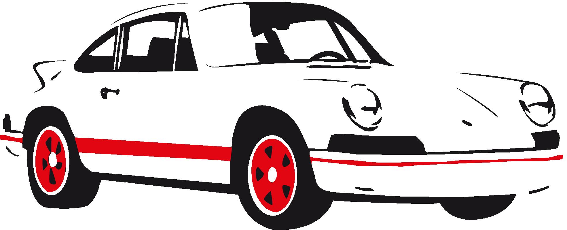 Pin White Clipart Ferrari #8 - Accent Auto Vector, Transparent background PNG HD thumbnail