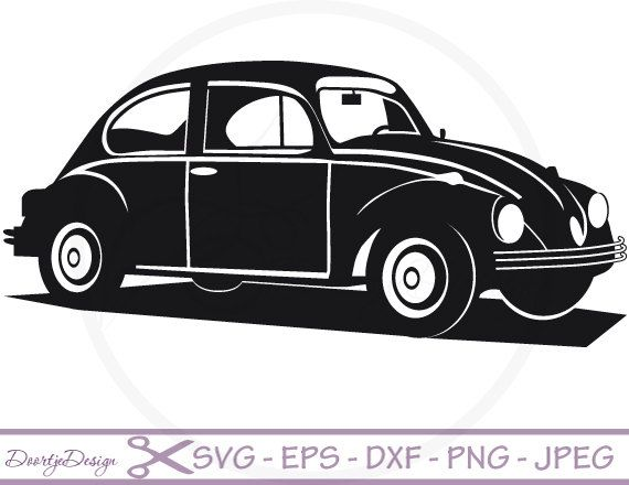 Vw Car Vector Files Svg File For Cricut Svg Files By Doortjedesign - Accent Auto Vector, Transparent background PNG HD thumbnail