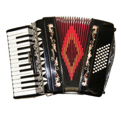 Accordion Vintage Rosette - Accordion, Transparent background PNG HD thumbnail