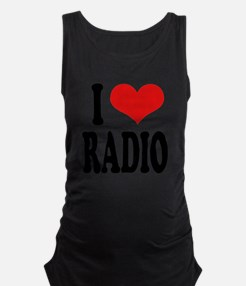 Iloveradioblk.png Maternity Tank Top - Adio Clothing, Transparent background PNG HD thumbnail