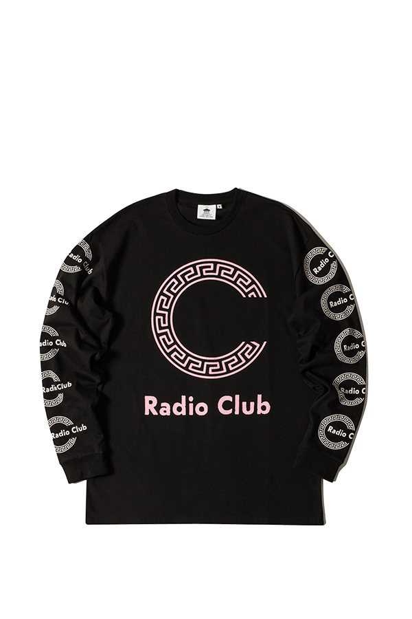 L/s Radio Club Roma Snchi022620 Bl - Adio Clothing, Transparent background PNG HD thumbnail