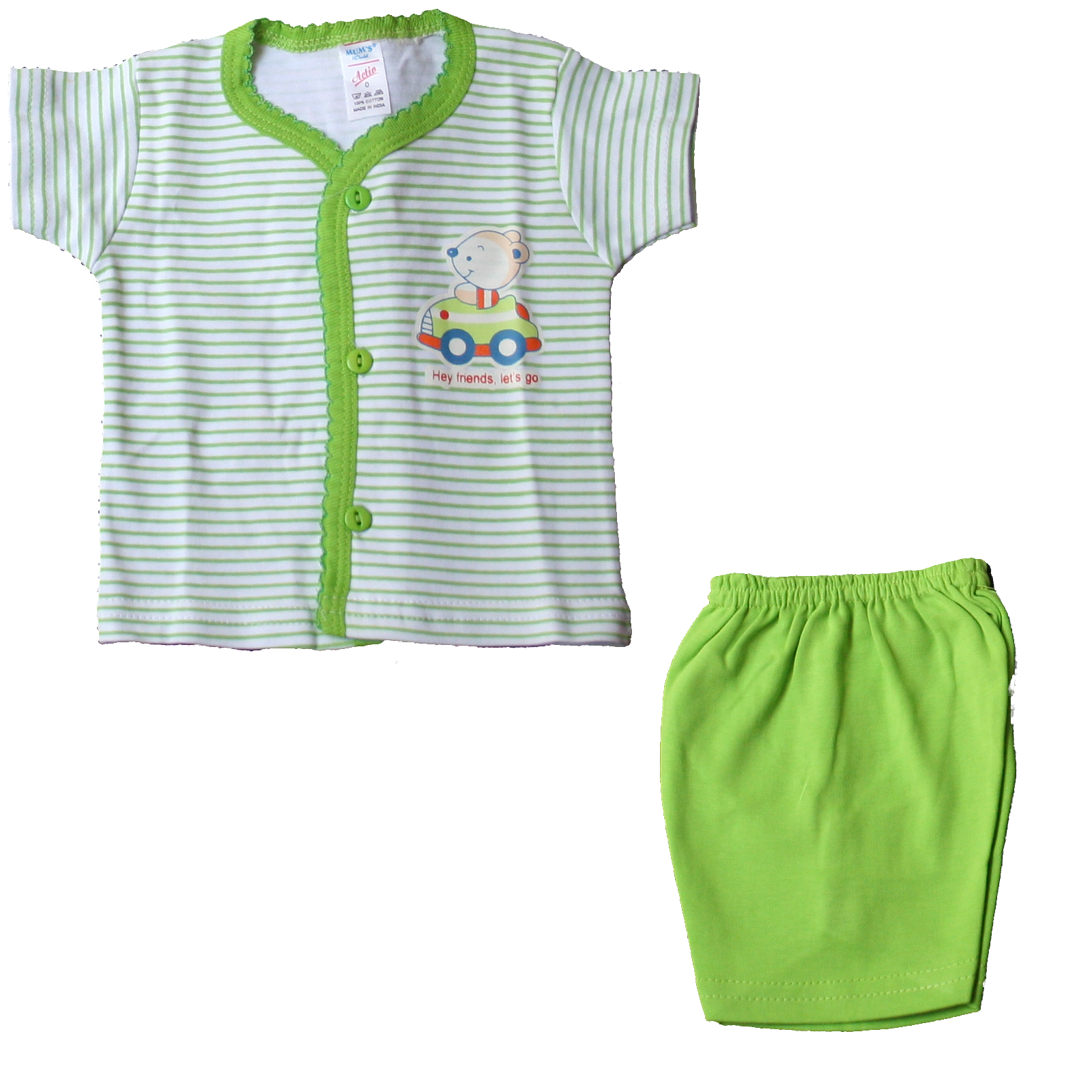 Newborn Assorted Complete Summer Clothing Collection Kit - Adio Clothing, Transparent background PNG HD thumbnail