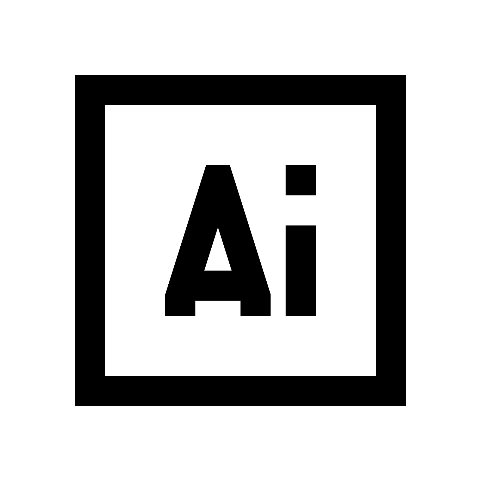 . Hdpng.com Adobe Illustrator Icon Adobe Photoshop Black: Png, Hdpng.com  - Adobe Black Vector, Transparent background PNG HD thumbnail