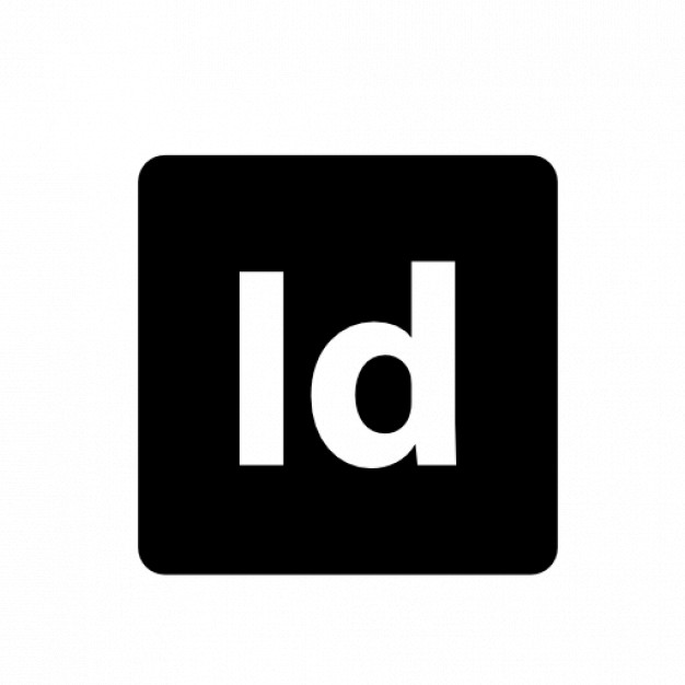 Adobe Indesign Free Icon - Adobe Black Vector, Transparent background PNG HD thumbnail