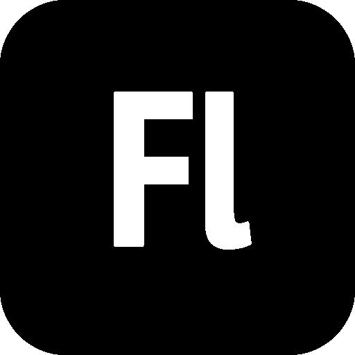 Png File: 512X512 Pixel   Adobe Flash 8 - Adobe Black Vector, Transparent background PNG HD thumbnail