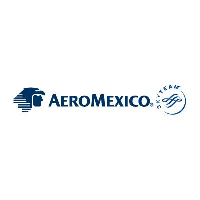 Aeromexico Skyteam Logo Vector . - Aeromexico Skyteam, Transparent background PNG HD thumbnail
