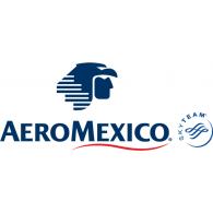 Logo Of Aeromexico - Aeromexico Skyteam, Transparent background PNG HD thumbnail