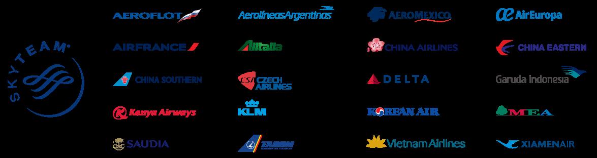 Skyteam Bonus Mileage Chart (Departure Region) - Aeromexico Skyteam, Transparent background PNG HD thumbnail