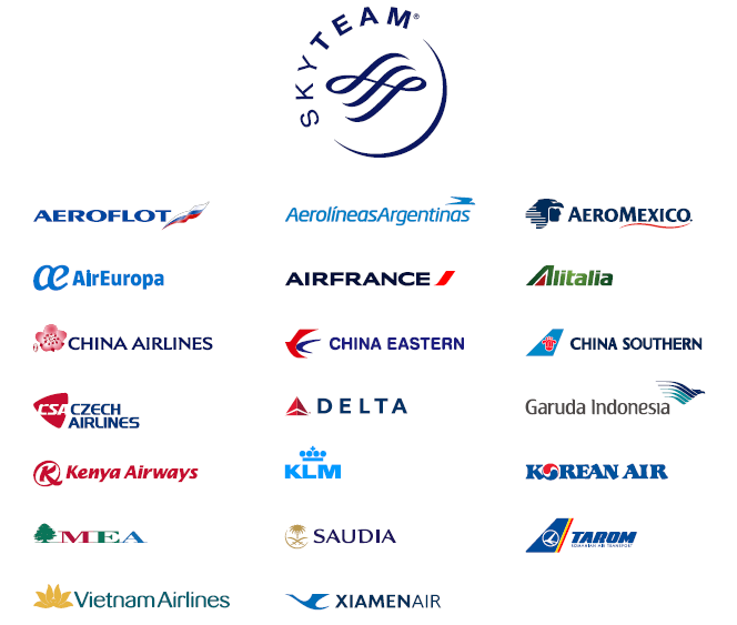 Skyteam Partners - Aeromexico Skyteam, Transparent background PNG HD thumbnail