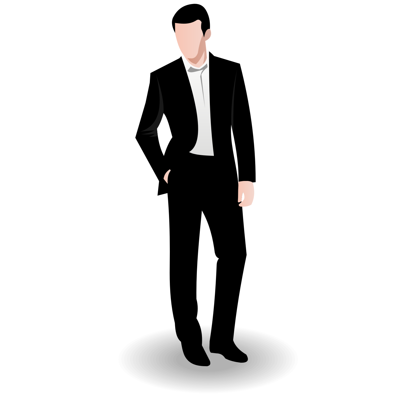 Business Man Vector - Afam Vector, Transparent background PNG HD thumbnail