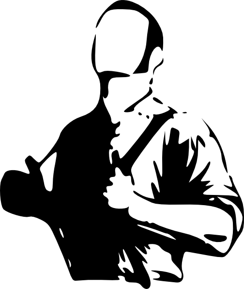 . Hdpng.com Free Vector Man Wearing Hangers Clip Art - Afam Vector, Transparent background PNG HD thumbnail