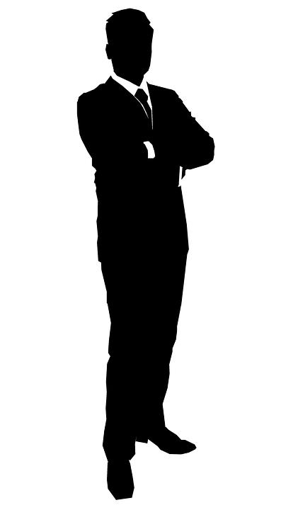 Iş Adamı, Siluet, Suit, Iş Adamları Siluet, Işadamı, Iş - Afam Vector, Transparent background PNG HD thumbnail