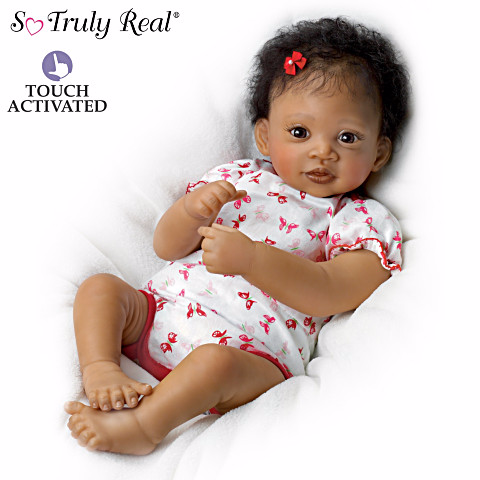 African American Baby Png Hd - Sweet Butterfly Kisses   African American Doll, Transparent background PNG HD thumbnail