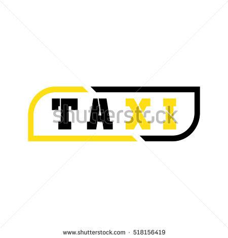 Taxi Logo Vector Design - Air Texi Vector, Transparent background PNG HD thumbnail