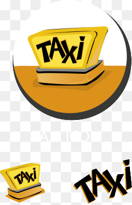 Taxi, Taxi, Traffic, Vector Png And Vector - Air Texi Vector, Transparent background PNG HD thumbnail