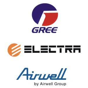 Gree U0026 Airwell U0026 Electra Bölge Bayii - Airwell, Transparent background PNG HD thumbnail