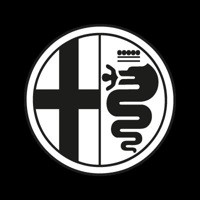 Alfa Romeo Black Vector Logo - Alfa Romeo Mito Vector, Transparent background PNG HD thumbnail