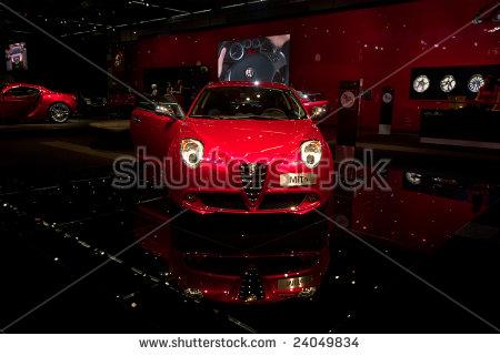 Bologna, Italy   15 December 2008:alfa Mito At The Motor Show Of Bologna - Alfa Romeo Mito Vector, Transparent background PNG HD thumbnail