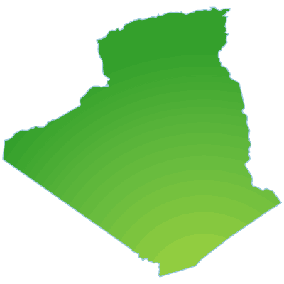 Click On The Algerie Geo Hdpng.com  - Algeria, Transparent background PNG HD thumbnail