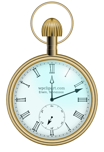 Alice In Wonderland Pocket Watch Png - Pocket Watch Fancy, Transparent background PNG HD thumbnail