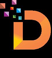 Alphabet D Pixel Logo Template - Alphabet Inc Vector, Transparent background PNG HD thumbnail