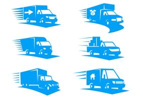 Moving Van Logo Vector - Ama Flat Track Vector, Transparent background PNG HD thumbnail