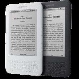 128X128 Px, Amazon Kindle 4 Icon 256X256 Png - Amazon Kindle, Transparent background PNG HD thumbnail
