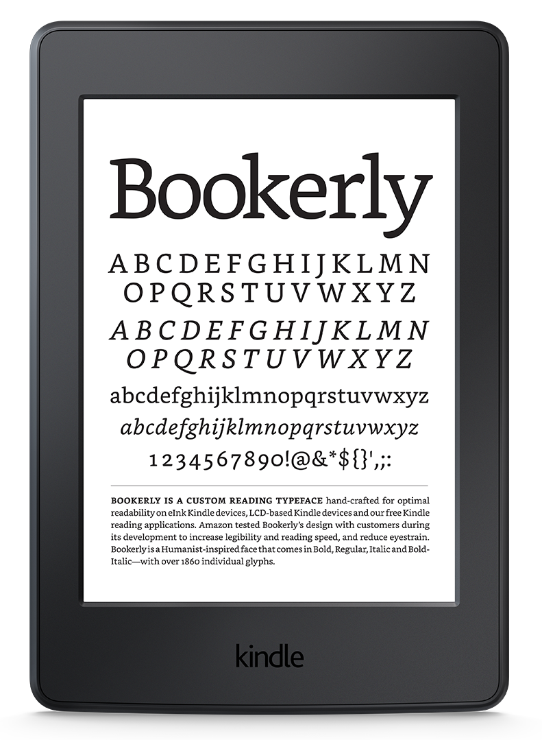 Bookerly The Font For Readers - Amazon Kindle, Transparent background PNG HD thumbnail