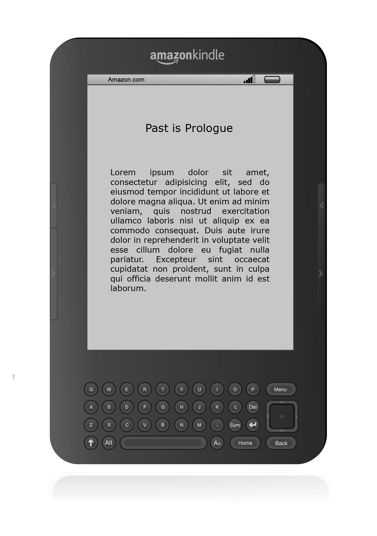 So Hdpng.com  - Amazon Kindle, Transparent background PNG HD thumbnail