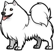 American Cocker Spaniel  · Logo American Eskimo Dog - American Pets, Transparent background PNG HD thumbnail