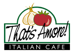 Logo. Thatu0027S Amore Italian Cafe - Amore Cafe, Transparent background PNG HD thumbnail