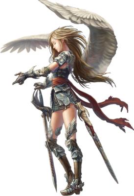 Angel Warrior PNG