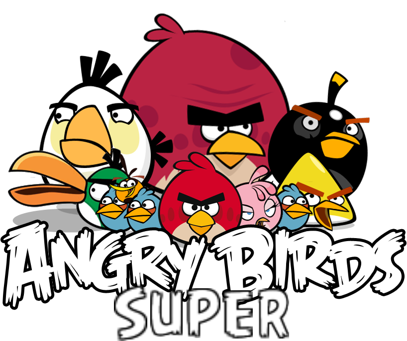 Angry Birds Super Logo.png - Angry Birds, Transparent background PNG HD thumbnail