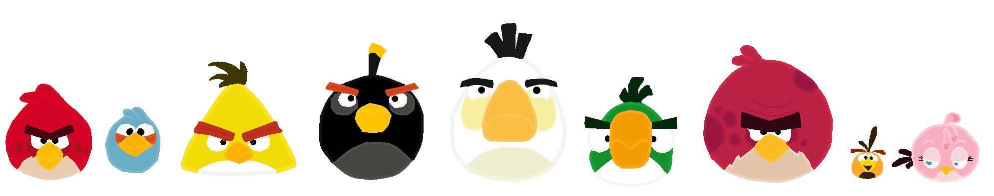 Angry Birds The Flock.png - Angry Birds, Transparent background PNG HD thumbnail