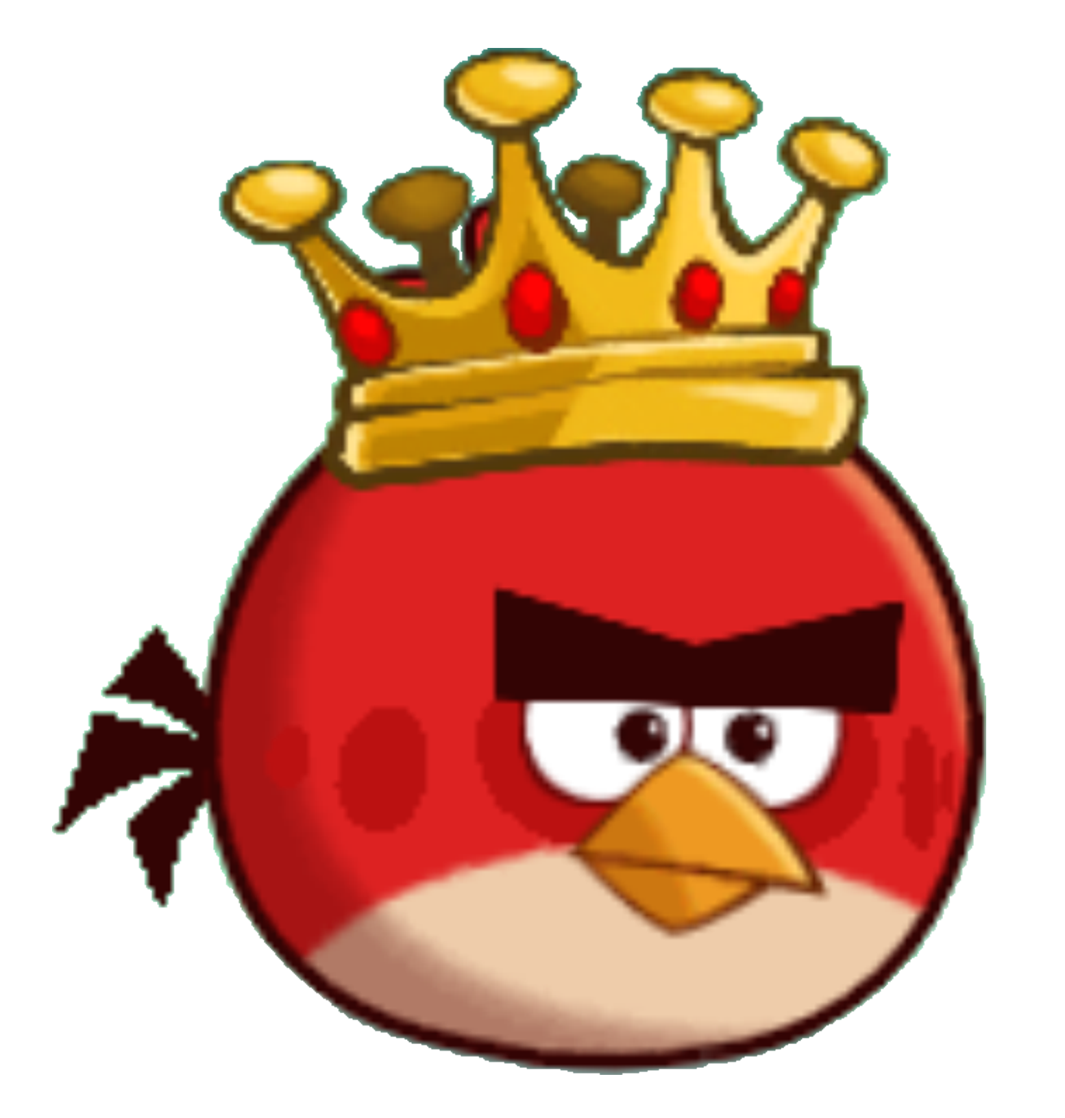 Image   King Red   Angry Birds.png | Angry Birds Wiki | Fandom Powered By Wikia - Angry Birds, Transparent background PNG HD thumbnail