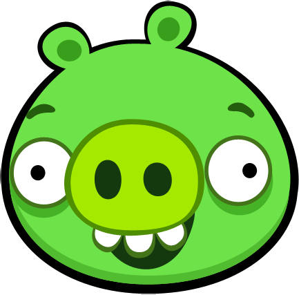 Level Fail Piggy Demo.png - Angry Birds, Transparent background PNG HD thumbnail