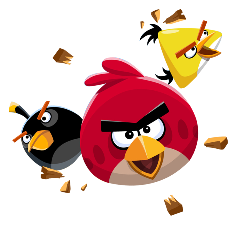Png 800X799 Angry Bird Transparent Background Hdpng.com  - Angry Birds, Transparent background PNG HD thumbnail