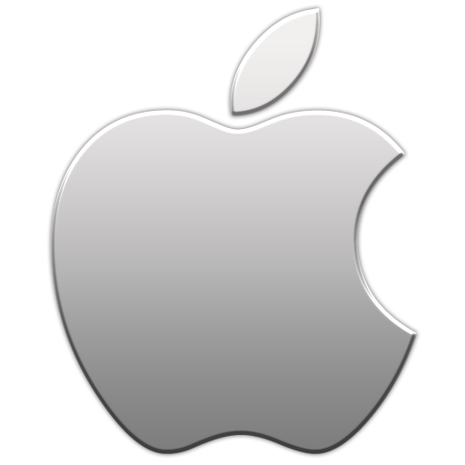 Apple Aluminum Icon From The Apple Logo Icons By Thvg - Apple Ios, Transparent background PNG HD thumbnail