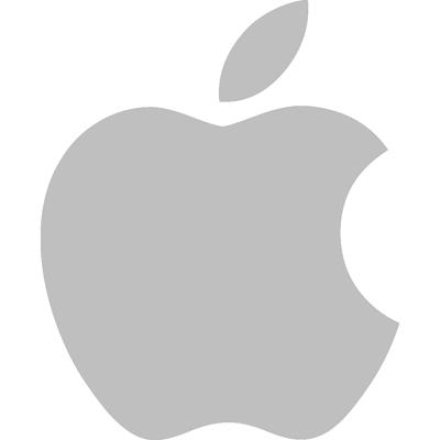 Apple Logo Grey - Apple Ios, Transparent background PNG HD thumbnail