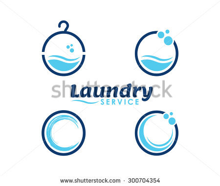 Laundry And Dry Cleaning Icons - Aqua Cleaning Vector, Transparent background PNG HD thumbnail