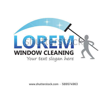 Window Cleaning Logo Vector Template - Aqua Cleaning Vector, Transparent background PNG HD thumbnail