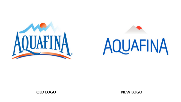 From Supremacy To Mediocracy Identity Logo Design Changes - Aquafina, Transparent background PNG HD thumbnail