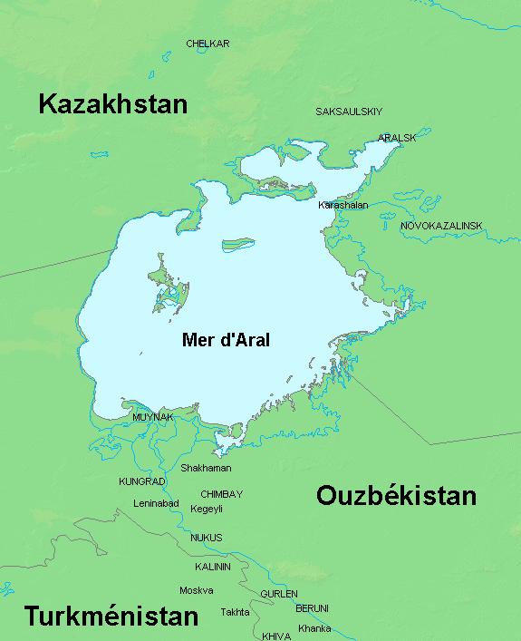 File:carte Mer Du0027Aral.png - Aral, Transparent background PNG HD thumbnail